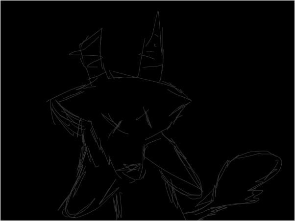 evil stuffed animal creater,thingy,,~Raven