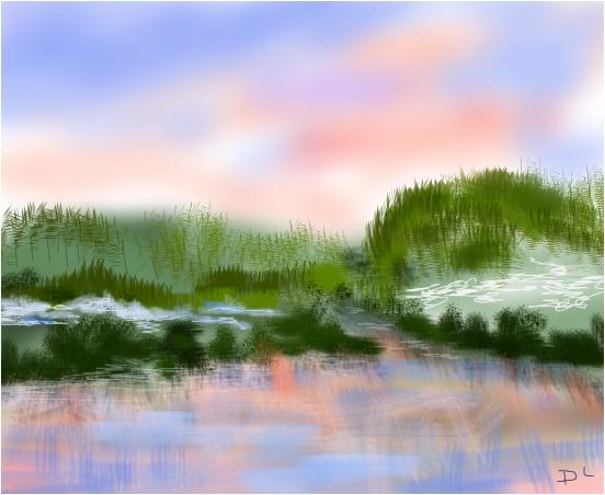 Winter Lake Beauty