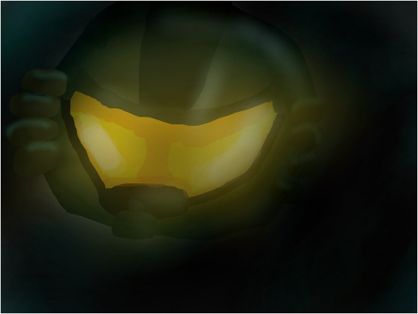 MasterChief's helmet