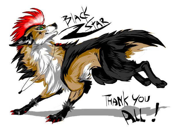 Thank you( my fursona)