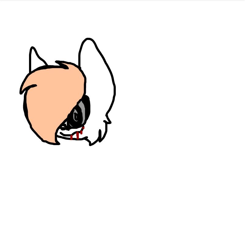 Odd ( lupisvulpes character doodle )