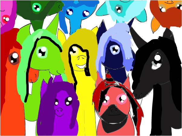 Ldshadowlady's Horses in shadowcraft
