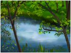 Little Pond Retreat so Blue