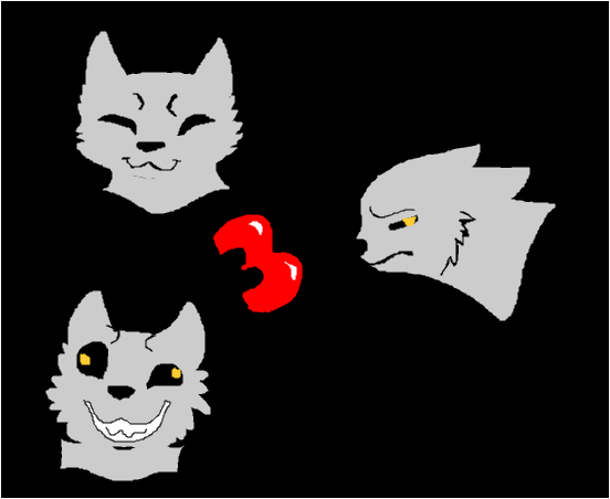 My three main emotions