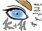 KH Kingdom Hearts Sora's eye