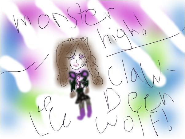 Monster high clawdeen wolf