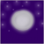 the brilliant moon
