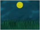 full moon backround