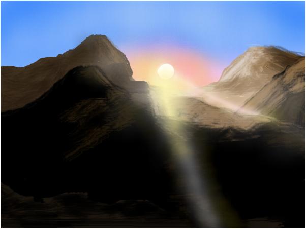 Namabian Sunrise