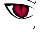 anime vampire eye