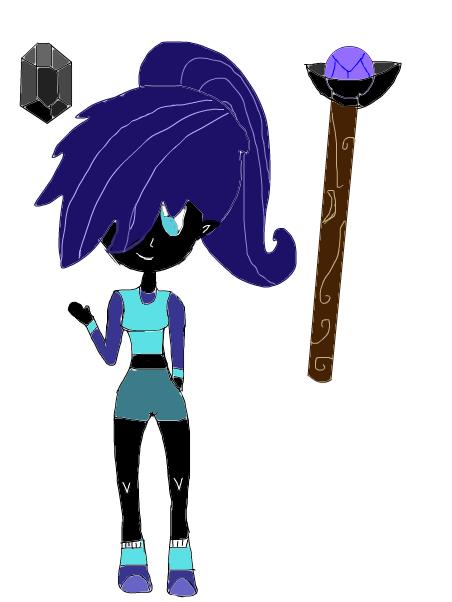 Black Sapphire (My Su OC)