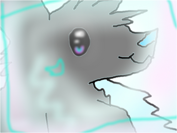 My little insane wolfie :o