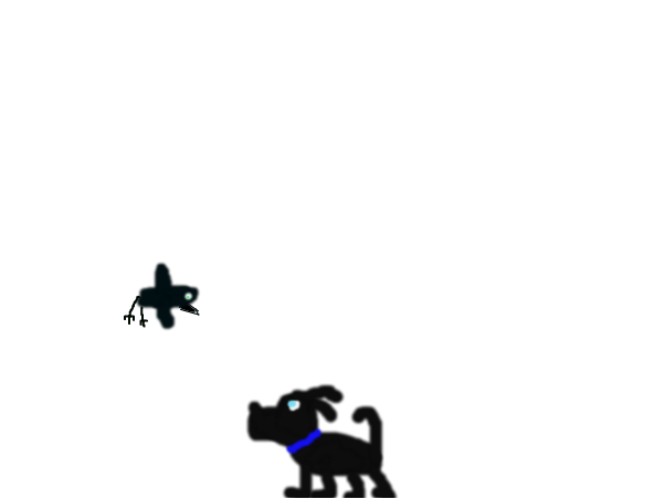 the dog and the crow