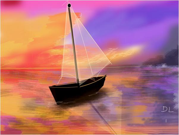 Alone on a Crystal Sea