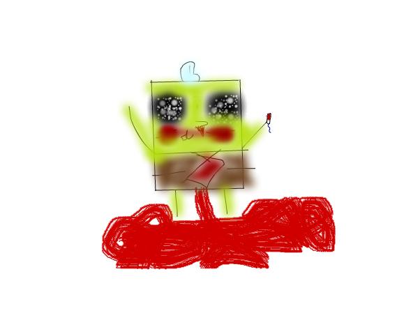 Spongebob auf Crack