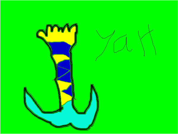An amazing mermaid tail
