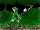 link wandering though faron woods at night