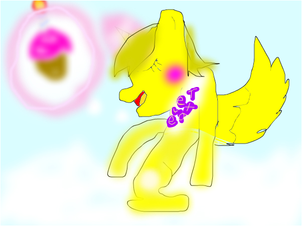 my little pony toy chica