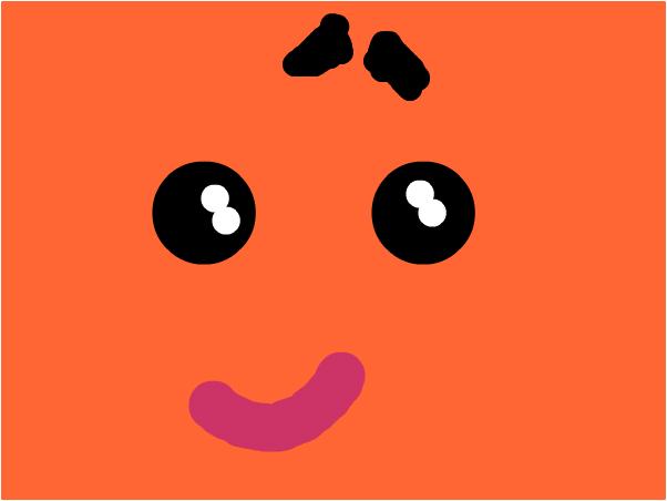 cute in orange