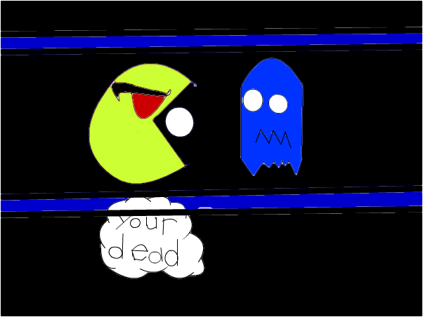 pacman of the ghoust death