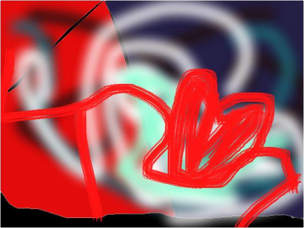 three d heart
