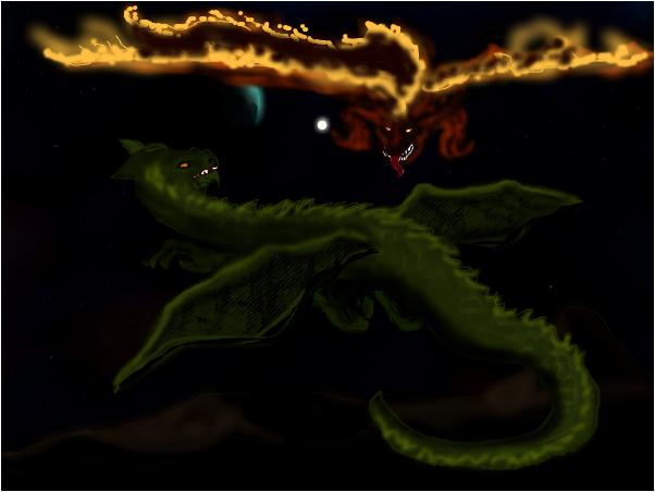 Dragon Flirting