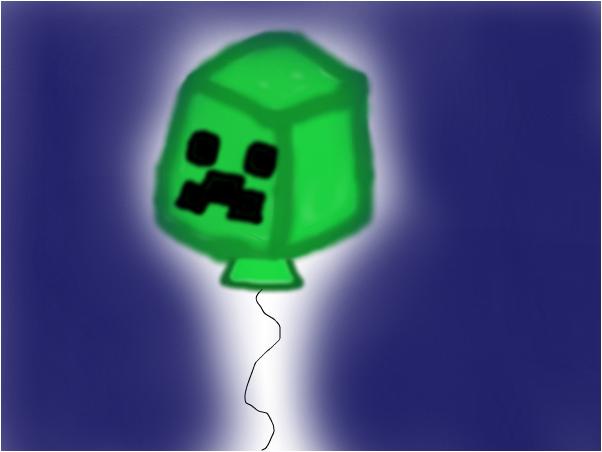 Creeper balloon