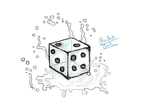 falling in water