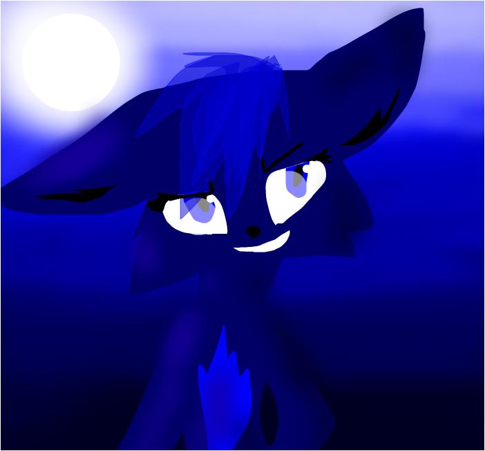 эволюция  Китти злая  копия  по имени Ночь