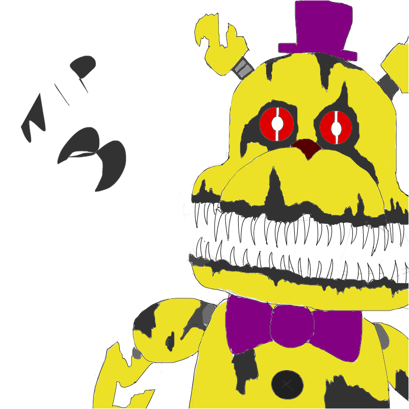 wip nightmare fredbear