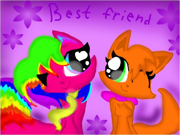 Best friend/ Лучшие подруги.