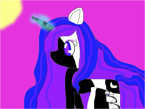 Me as a pony... Lily