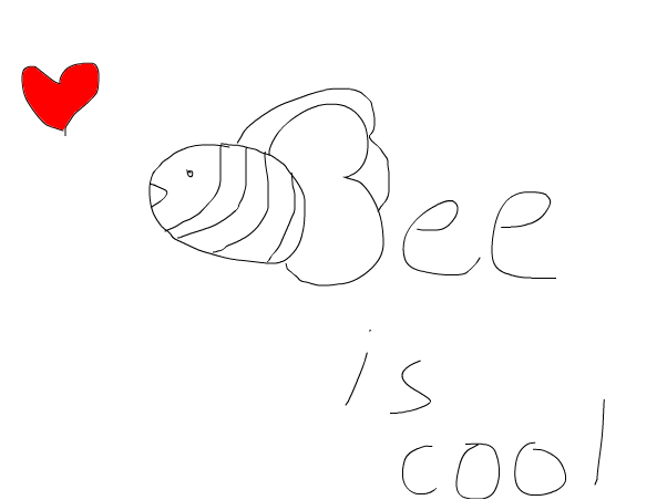 Bee is cool!