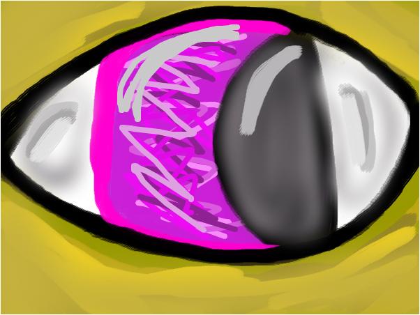 Chica The Chicken's Eye
