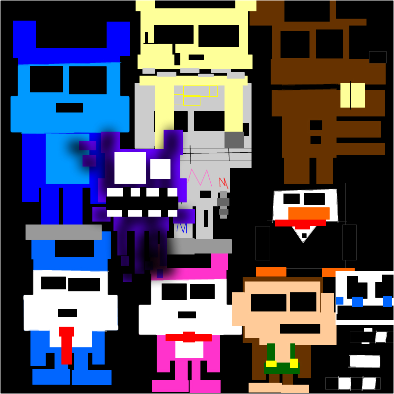 five nights at candy's retro