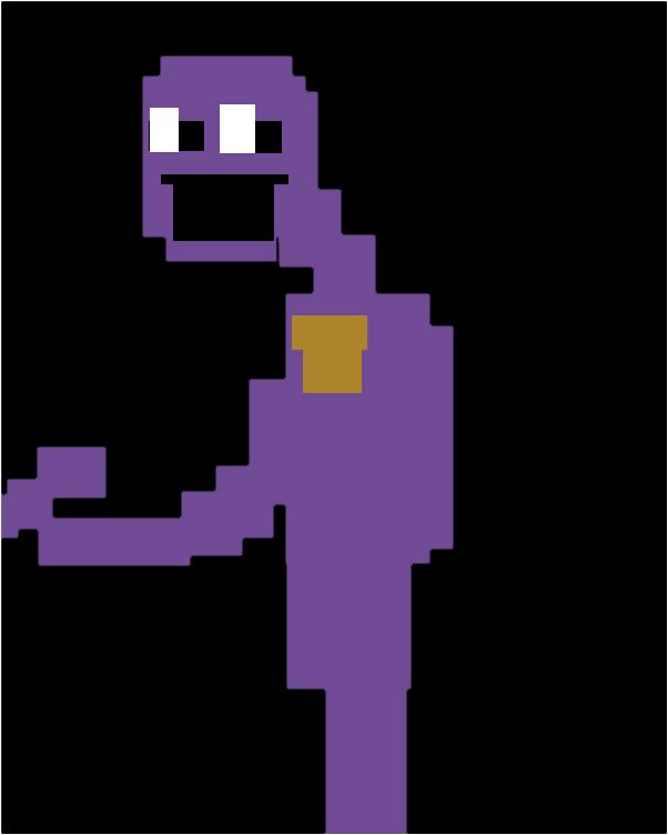 Retro Purple Guy Fnaf