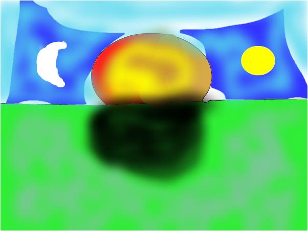 sun ,moon battle