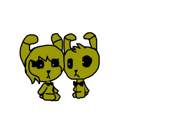 well most of you guys ship springtrap and mangle