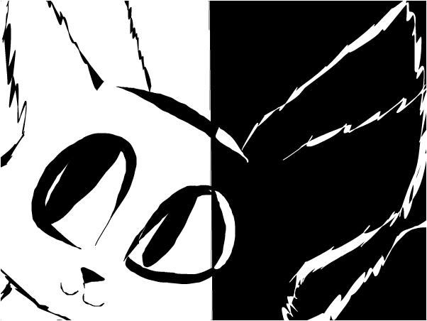 Cat graffiti 2