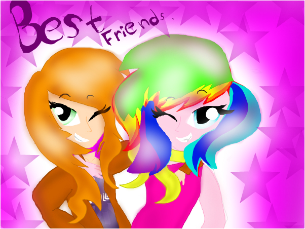 Best friends!(people)
