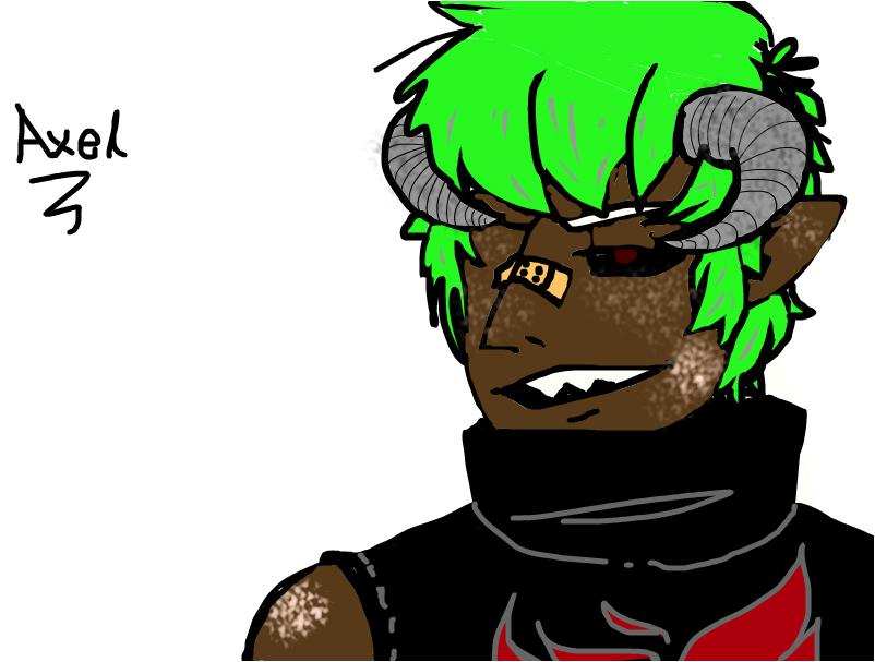 Axel (my oc)
