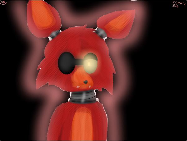 Foxy in the dark