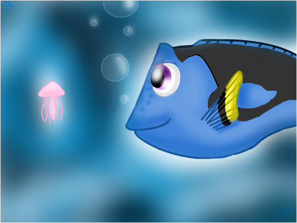 Dory and Squishy! (From Finding Nemo)