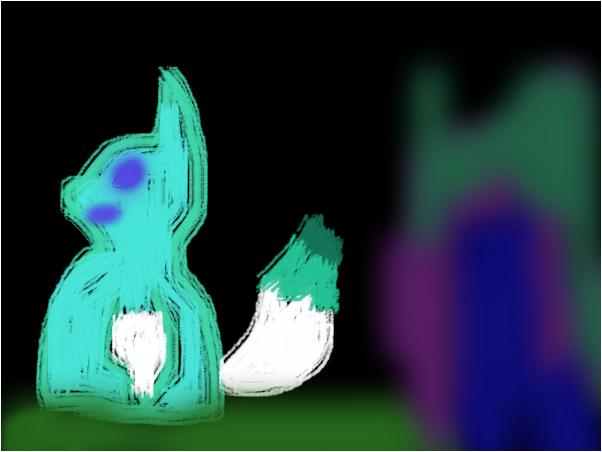 the sad fox
