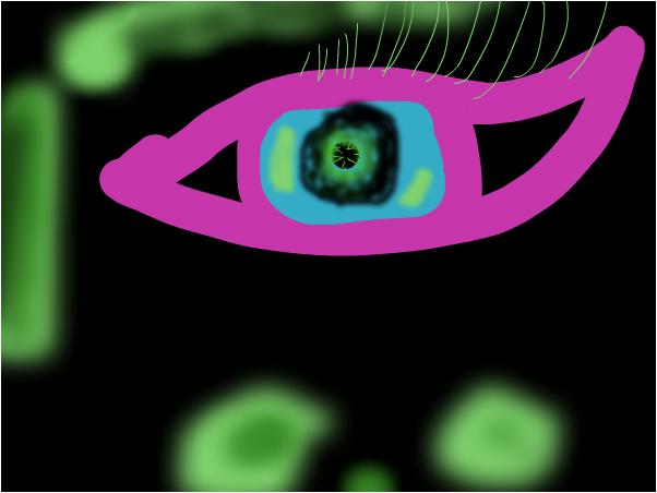 paink eye