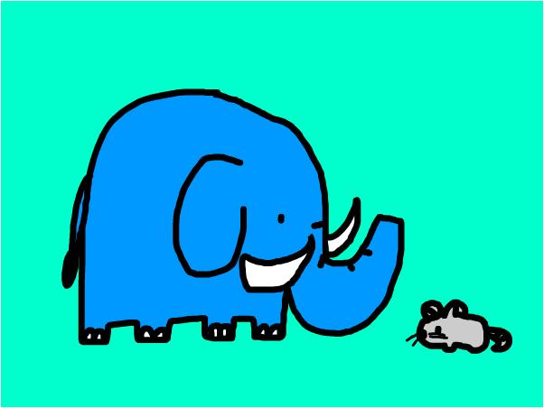 elephant mouse