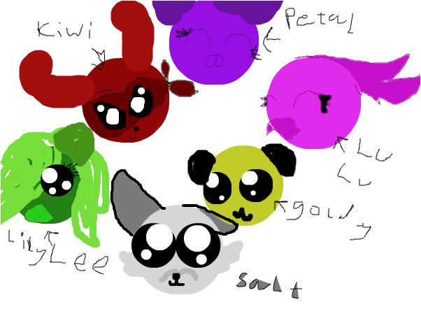 the cute crew[ wip]