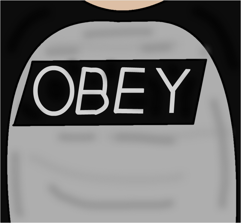 obey roblox shirt