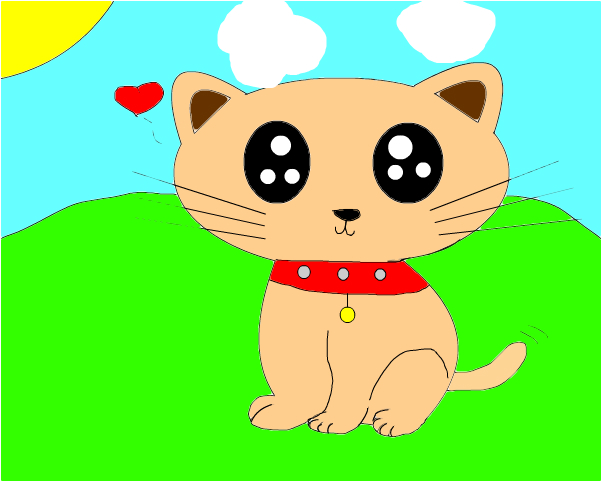 little cute kitty