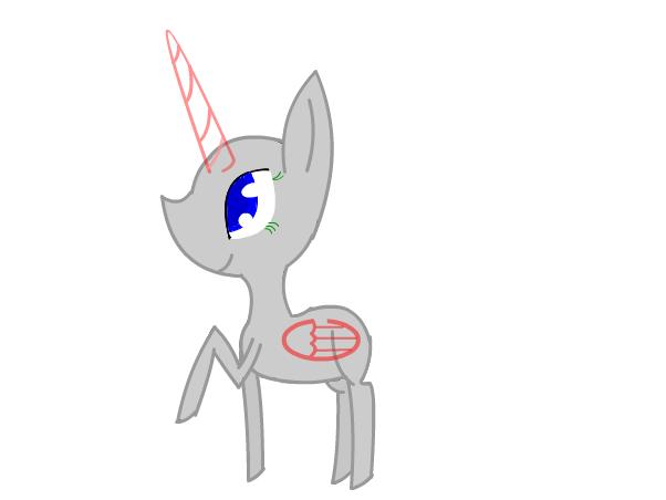 манекен пони